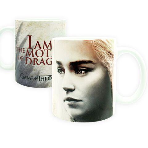 Mug - Game Of Thrones - Daenerys Targaryen 320 Ml Exclu Micromania