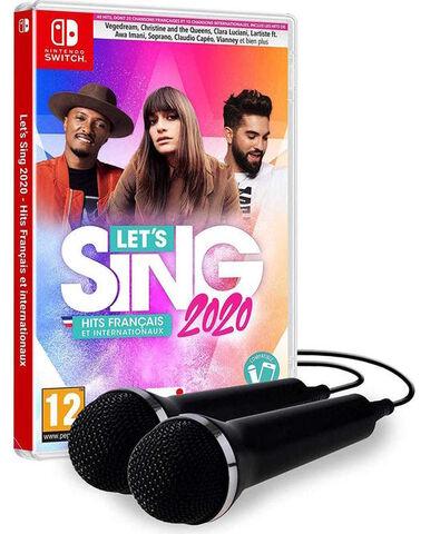 Let's Sing 2020 Hits Français Et Internationaux + 2 Micros