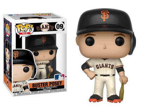 Figurine Funko Pop! N°09 - Major League Baseball Saison 3 - Buster Posey