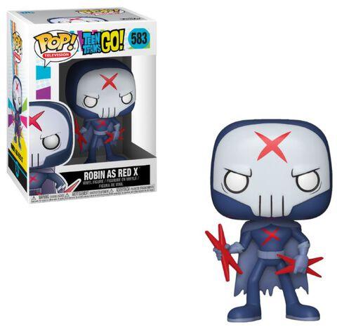 Figurine Funko Pop! N°583 - Teen Titans Go! S3 - Robin en Red X