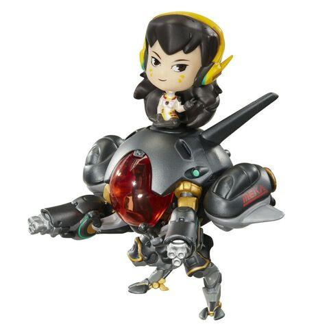 Figurine Cute But Deadly - Overwatch - D.va avec Meka en fibre de carbone