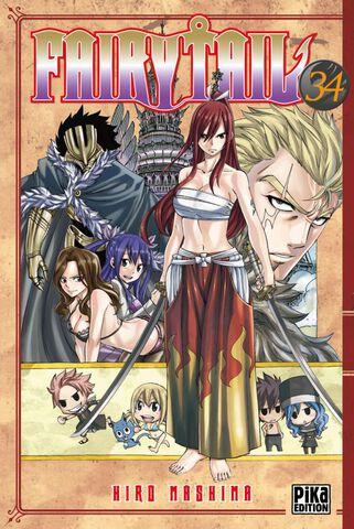 Manga - Fairy Tail - Tome 34