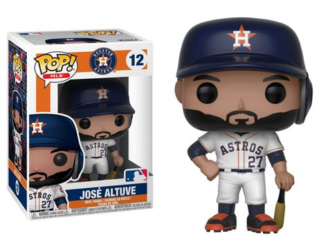 Figurine Funko Pop! N°12 - Major League Baseball Saison 3 - José Altuve