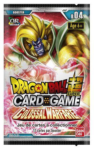 Boîte complète (24 Boosters) - Dragon Ball Super - Série 4 : Colossal Warfare