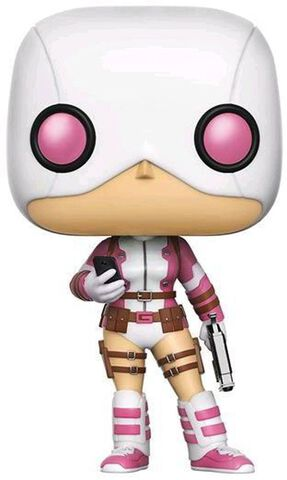 Figurine Funko Pop! N°164 - Marvel - Gwenpool avec pistolet