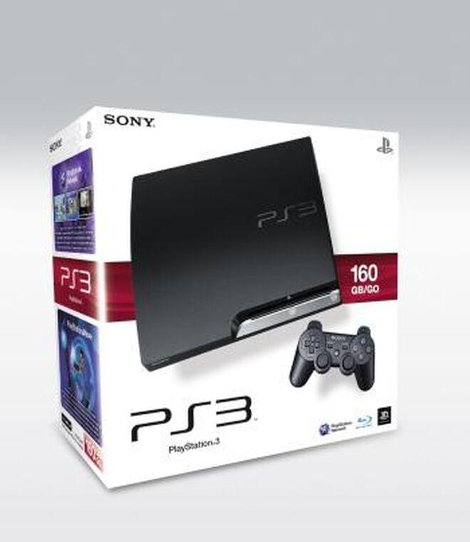 Pack PS3 160 Go Noire Nue
