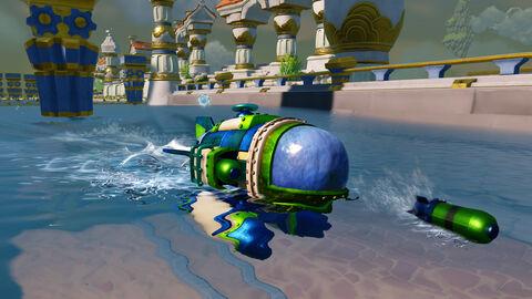 Figurine Skylanders Véhicule Mer - Dive Bomber