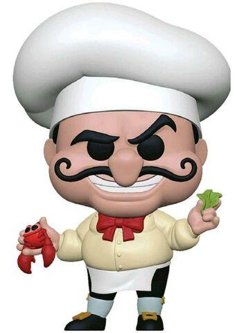 Figurine Funko Pop! N°567 - La Petite Sirène - Chef Louis