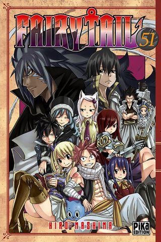 Manga - Fairy Tail - Tome 51