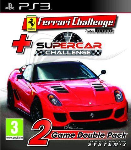 Pack Ferrari Challenge + Supercar Challenge
