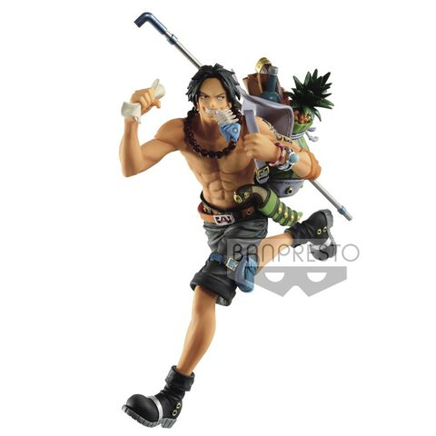 Figurine - One Piece - Three Brothers Figure(b:portgas. D. Ace)