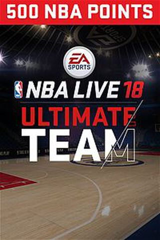 Dlc NBA Live 18 Ultimate Team 500 Pts Xbox One