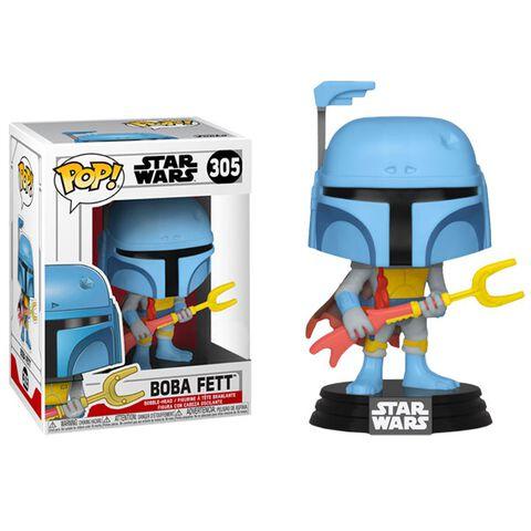 Figurine Funko Pop ! N°305 - Star Wars - Boba Fett Animé - Exclusivité Micromania-Zing