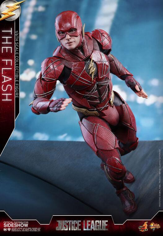 Figurine Hot Toys - Justice League Figurine Movie - The Flash 30 cm - Masterpiece