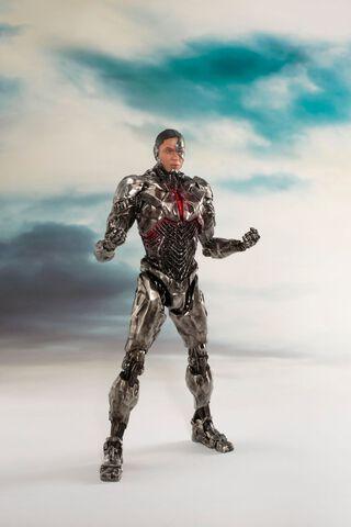 Statuette Kotobukiya - Justice League Movie - Cyborg Artfx St