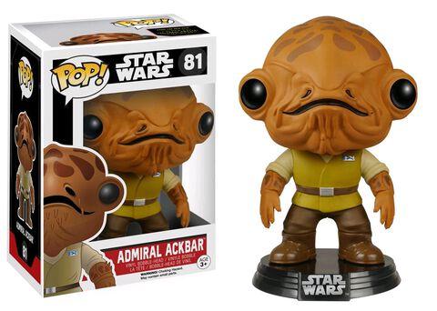 Figurine Funko Pop! N°81 - Star Wars Ep VII - Amiral Ackbar