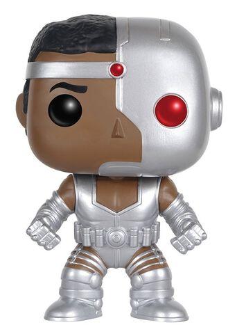Figurine Funko Pop! N°95 - Dc Comics - Cyborg