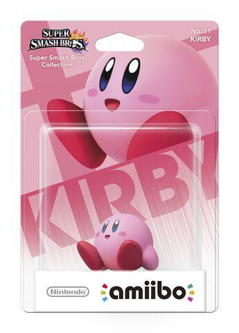 Figurine Amiibo N°11 Smash Kirby
