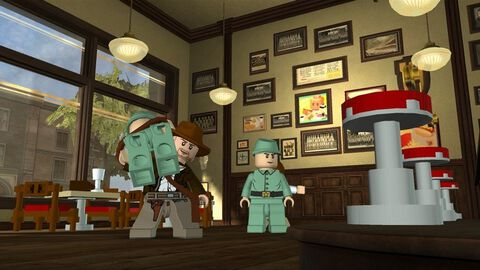 Lego Indiana Jones 2, L'aventure Continue