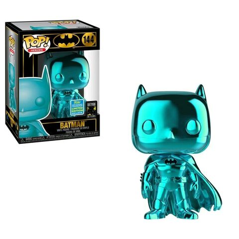 Figurine Funko Pop! N°144 - Batman - Batman Chrome Sdcc 2019