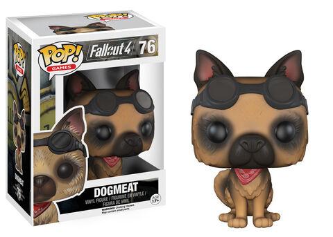 Figurine Funko Pop! N°76 - Fallout - Flocked Dogmeat