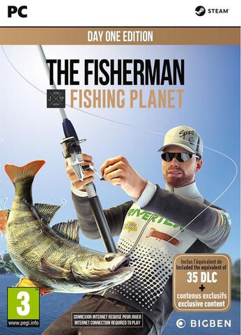 Fisherman Fishing Planet