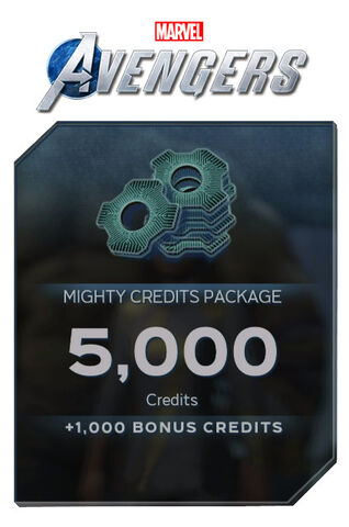Marvel's Avengers - Dlc - Mighty Credits Package : 5000 Points + 1000 Points Bon