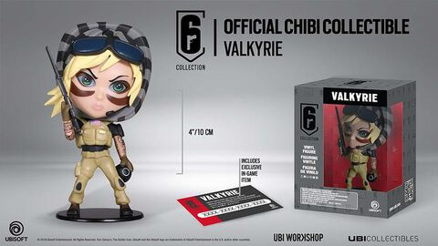 Figurine - Rainbow 6 - Six Collection Chibi Valkyrie