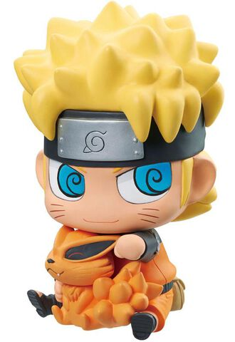Figurine - Naruto Shippuden - Megahouse Naruto et Kurama 15 cm