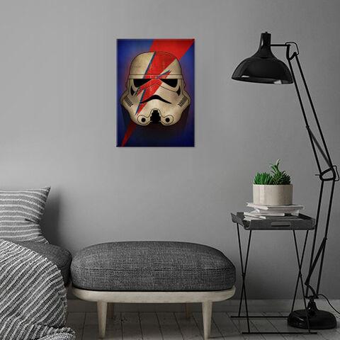 Poster Metallique - Star Wars - Stormtrooper Ziggy