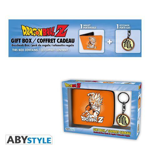Coffret - Dragon Ball - Portefeuille + Porte-clés Goku
