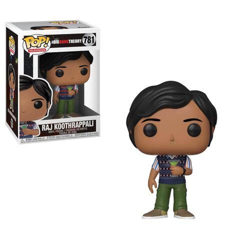 Figurine Funko Pop! N°781 - The Big Bang Theory - S2 Raj Koothrappali