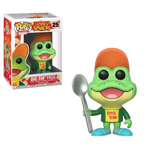 Figurine Funko Pop! N°25 - Kellogg's : Honey Smacks - Dig Em Frog