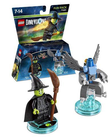Figurine Lego Dimensions La Mechante Sorciere de L'ouest - Le Magicien D'oz