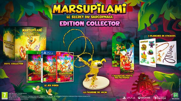 Marsupilami Le Secret Du Sarcophage Edition Collector