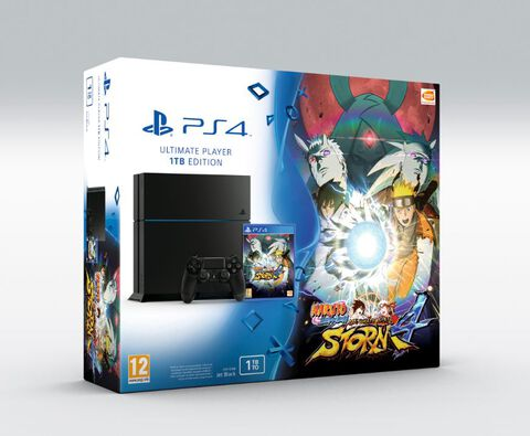 Pack PS4 1 To + Naruto Shippuden : Ultimate Ninja Storm 4