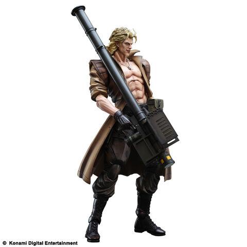 Figurine Metal Gear Solid 2 Liquid Snake Play Arts Kaï