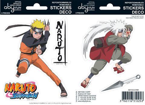 Stickers - Naruto - Naruto / Jiraiya
