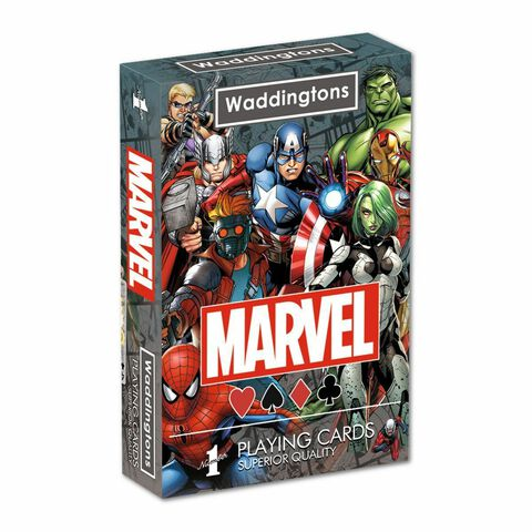 Jeu de cartes - Marvel