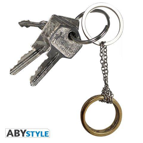 Porte-clés - Le Seigneur des Anneaux - L'anneau en 3D