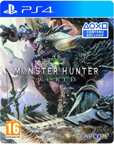 Monster Hunter World Edition Steelbook