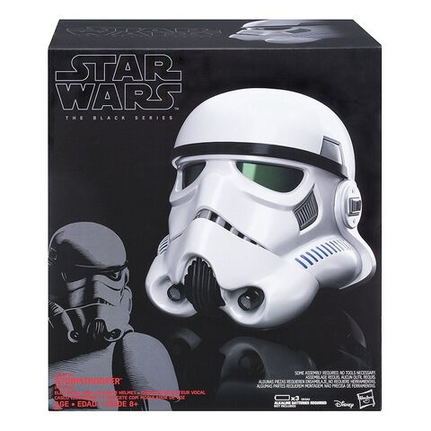 Casque Changeur de Voix - Star Wars Saison 1 - The Black Series Helmet