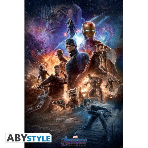 Poster - Avengers - End Game (91.5 X 61 Cm)