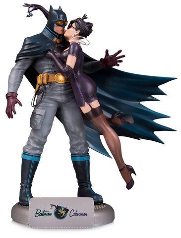 Statuette - DC Comics Bombshells - Batman et Catwoman