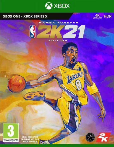 NBA 2k21 Edition Mamba Forever (Jeu Xbox Series inclus)