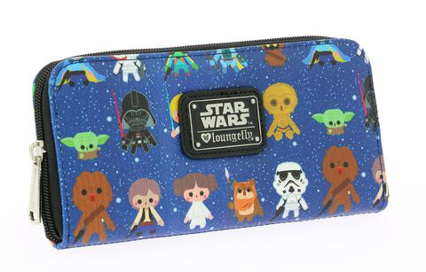 Pochette Loungefly - Star Wars - Personnages