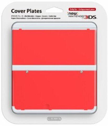 Coque Nintendo New 3DS 18 - Rouge