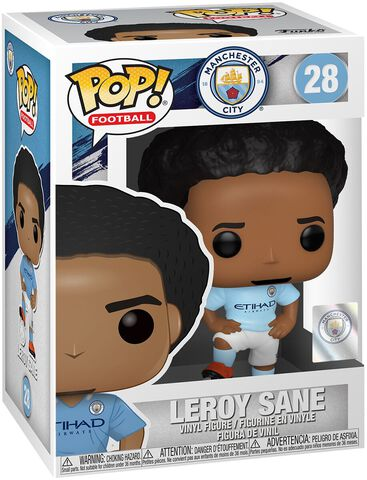 Figurine Funko Pop! N°28 - Football - Leroy Sane (manchester City)