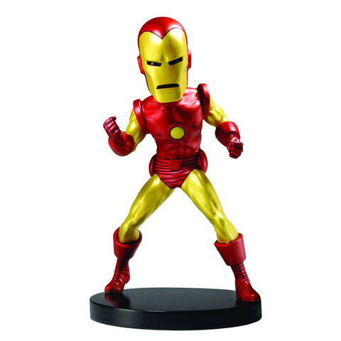 Figurine Iron Man Head Knocker Extreme Iron Man - Exclusivité Micromania.fr