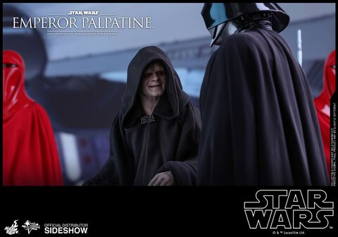 Figurine Hot Toys - Star Wars Episode VI - Emperor Palpatine 1/6
